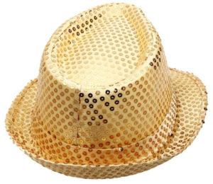 Chapeau à paillettes