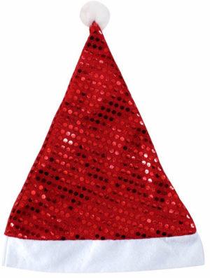Chapeau de Père Noël à paillettes