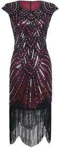 Robe vintage années 20 charleston