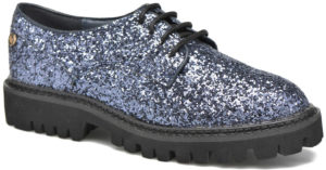 Chaussures à lacets Xti glitter navy