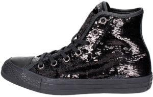 Sneakers Converse noires paillettes