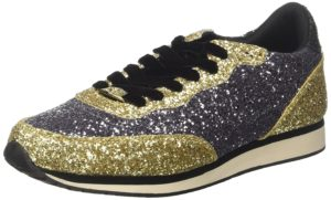 Sneakers Guess sunny paillettes or et noires