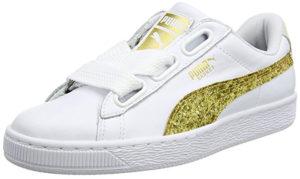 Sneakers  Heart Glitter Puma