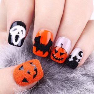 Kit nail art vernis à ongles Halloween