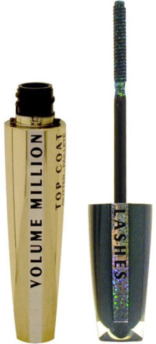 L oreal Mascara Volume Millions Top Coat Glitter paillettes