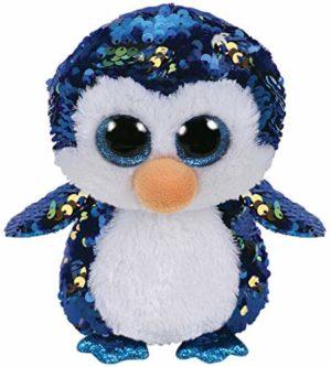 Payton peluche pingouin à paillettes