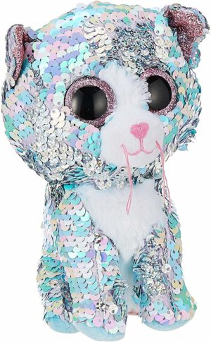 Whimsy peluche chat à paillettes