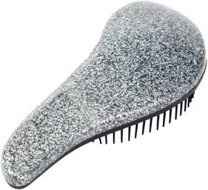 Brosse à cheveux pailletée