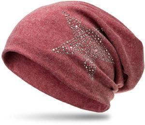 Bonnet beanie strass