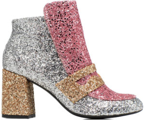 Bottine paillettes Sarenza Winter Freaks