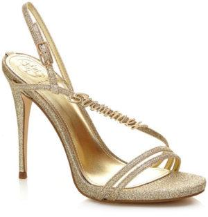 Sandales tilda paillettes Guess