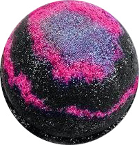 Glitter bath bomb galaxy par Soapie Shoppe