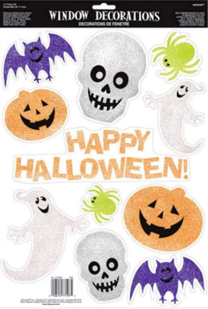 Stickers pailletés Halloween