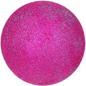 Boule de bain paillettes roses avec bijou surprise