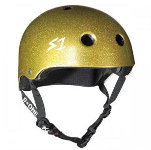 Casque S-One Lifer V2 Gold à paillettes